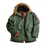 Куртка Аляска Slim Fit N-3B PARKA OLIVE