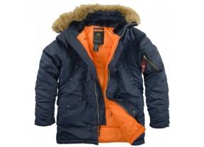 Куртки  TOP GUN Alpha Industries  и  Nord Storm