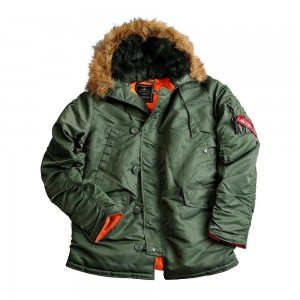 Куртка Аляска Slim Fit N-3B PARKA OLIVE