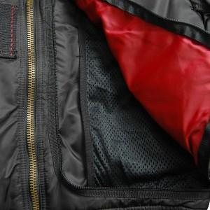 Мужская куртка Injector чёрная, Alpha Industries