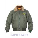 Куртка пилот Green