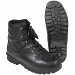 BW mountain boots, black, Goretex lining, used