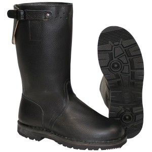 BW Navy Boots black leather