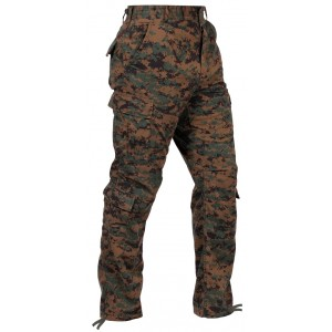 Брюки Combat Uniform Rothco Woodland Digital