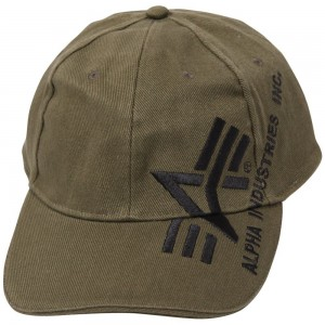 "Кепка ""Big A Cross Cap Alpha (Olive Green)"