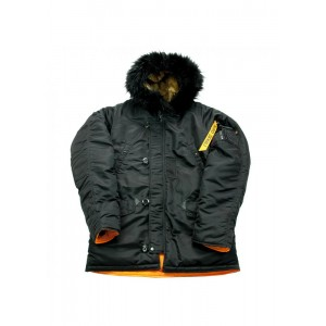 Куртка Аляска Nord DENALI Storm Husky N-2B Short (black/orange)