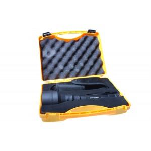 Фонарь Armytek Barracuda на теплом диоде XM-L2 в чемоданчике - 1240 люмен! Черный.
