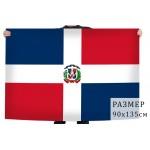 Флаг Доминиканы.