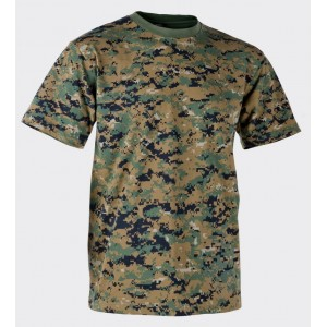 Футболка - Cotton - USMC Digital Woodland