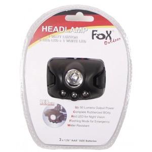 Налобный фонарик FoxOutdoor