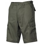 Шорты бермуды US BDU  OD green cargopockets