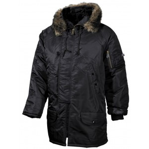 "Куртка ""Аляска""  N3B, black"
