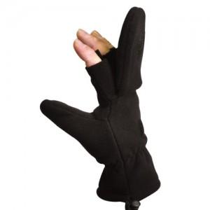"Перчатки беспалые/рукавицы ""Sniper"" (polyester fleece) Rotho"