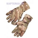 Перчатки тактические Softshell Tactical Gloves, Waterproof MULTICAM