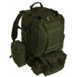 US Assault хаки-олива, объем рюкзака - 40-50 литров.