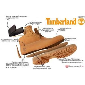 Ботинки Timberlan