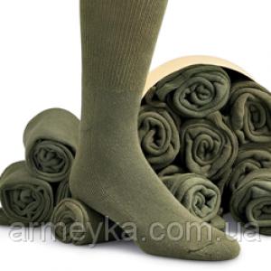Носки армейские 100% шерсть