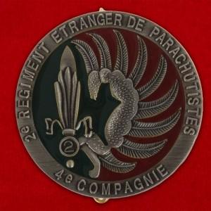 Значок Иностранного Легиона Франции.