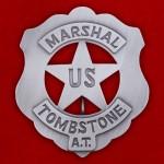 "Знак ""Маршал Томбстоуна, Аризона"""